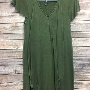 Kensie Army Green Dress Small